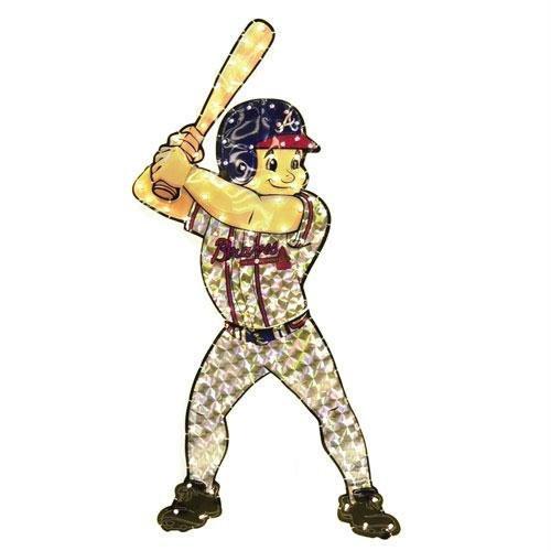 "Atlanta Braves 44"" Animated Lawn Figure"