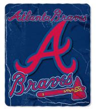 Atlanta Braves 50x60 Fleece Blanket - Wicked Design