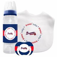 Atlanta Braves Baby Gift Set