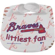 Atlanta Braves Baby Bib - Full Color Mesh