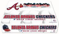 Atlanta Braves Checker Set