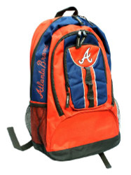 Atlanta Braves Back Pack - Red Colossus Style