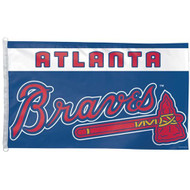 Atlanta Braves 3'x5' Flag