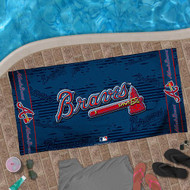 Atlanta Braves Beach Towel