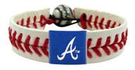Atlanta Braves Baseball Bracelet - Classic Style