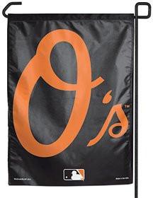 """Baltimore Orioles 11""""x15"""" Garden Flag - O Logo"""