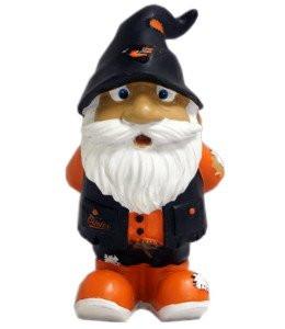 """Baltimore Orioles Garden Gnome - 8"""" Stumpy"""