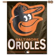 """Baltimore Orioles 27""""x37"""" Banner"""