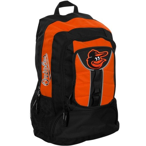 Baltimore Orioles Back Pack - Black Colossus Style