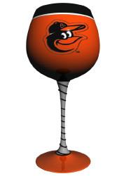 Baltimore Orioles Artisan Wine Glass