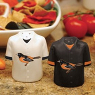 Baltimore Orioles Gameday Jersey Salt and Pepper Shakers