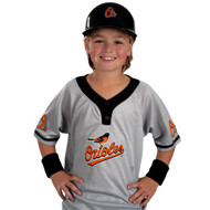Baltimore Orioles Baseball Helmet and Jersey Set