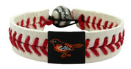 Baltimore Orioles Baseball Bracelet - Classic Style
