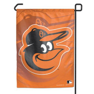 "Baltimore Orioles 11""x15"" Garden Flag - Gooney Bird, Orange with Shadow"