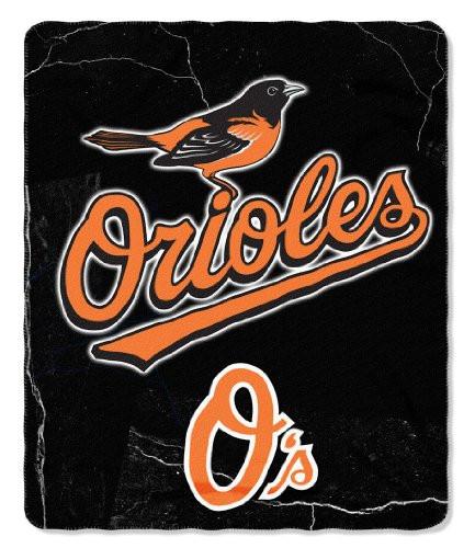 Baltimore Orioles 50x60 Fleece Blanket - Wicked Design