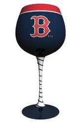 Boston Red Sox Artisan Wine Glass