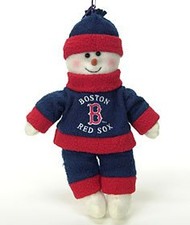 "Boston Red Sox 10"" Snowflake Friends"