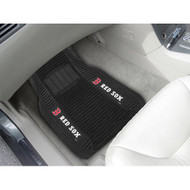 Boston Red Sox Car Mats - Deluxe Set