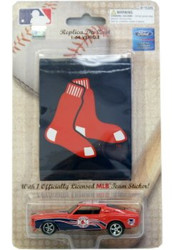 Boston Red Sox 1:64 1969 Mustang with Sticker