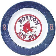 Boston Red Sox 4 Piece Dinner Plate Set