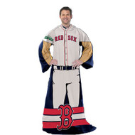 """Boston Red Sox 48""""x71"""" Comfy Throw - Player Design"""