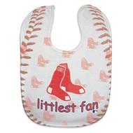 Boston Red Sox Baby Bib - Full Color Mesh