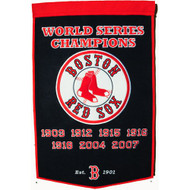 "Boston Red Sox 24""x36"" Wool Dynasty Banner"