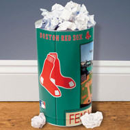 "Boston Red Sox 15"" Waste Basket"