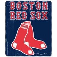 Boston Red Sox 50x60 Fleece Blanket - Wicked Design