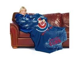 "Chicago Cubs 48""x71"" Comfy Throw"