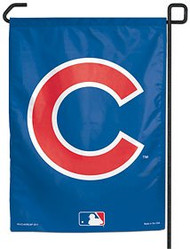 "Chicago Cubs 11""x15"" Garden Flag - ""C"" Logo"