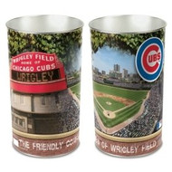 "Chicago Cubs 15"" Waste Basket"