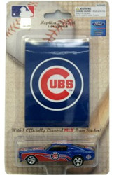 Chicago Cubs 1:64 1969 Mustang with Sticker