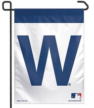 "Chicago Cubs 11""x15"" Garden Flag - ""W"" Flag"
