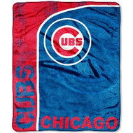 "Chicago Cubs 46"" x 60"" Micro Raschel Throw Blanket"
