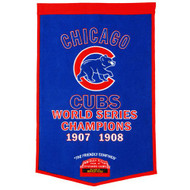 "Chicago Cubs 24""x36"" Wool Dynasty Banner"