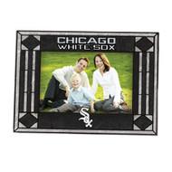 Chicago White Sox Art-Glass Horizontal Picture Frame