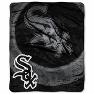 """Chicago White Sox 50""""x60"""" Retro Style Royal Plush Raschel Throw Blanket"""