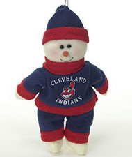 "Cleveland Indians 10"" Snowflake Friends"