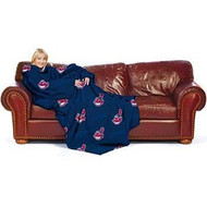 "Cleveland Indians 48""x71"" Comfy Throw"