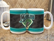 Florida Marlins Coffee Mug - Felt Style