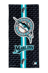 Florida Marlins Beach Towel