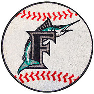"""Florida Marlins 29"""" Baseball Mat"""