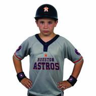 Houston Astros Baseball Helmet and Jersey Set