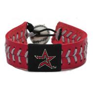 Houston Astros Baseball Bracelet - Team Color Style