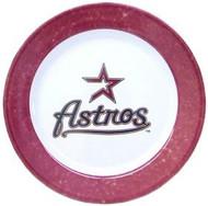 Houston Astros 4 Piece Dinner Plate Set