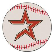 """Houston Astros 29"""" Baseball Mat"""