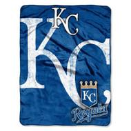 "Kansas City Royals 46"" x 60"" Micro Raschel Throw Blanket - Triple Play Design"
