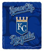 Kansas City Royals 50x60 Fleece Blanket - Wicked Design