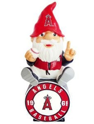 Los Angeles Angels Gnome On Team Logo